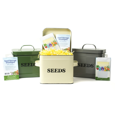Seed Storage Tin