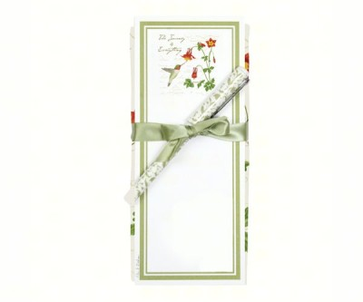 HUMMINGBIRD TOWEL & NOTEPAD SET - $14.95