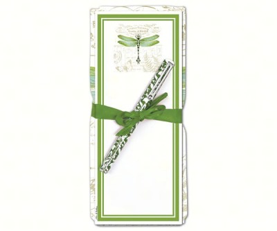 DRAGONFLY TOWEL & NOTEPAD SET - $14.95