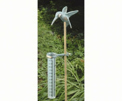 HUMMINGBIRD RAIN GAUGE - $16.95