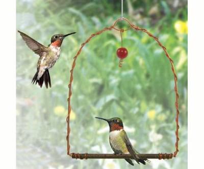COPPER HUMMINGBIRD SWING - $12.95