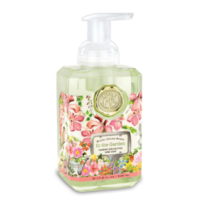 IN THE GARDEN FOAMING HAND SOAP - $10.95