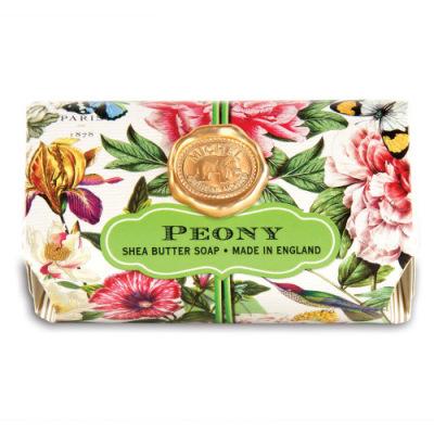PEONY LARGE BATH SOAP - $9.95