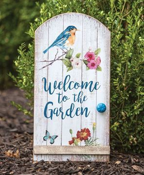 WELCOME TO THE GARDEN SIGN- $19.95