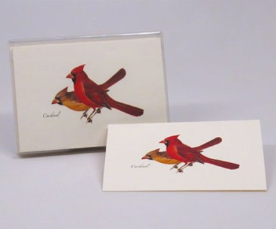 CARDINAL NOTECARD SET - $10.95