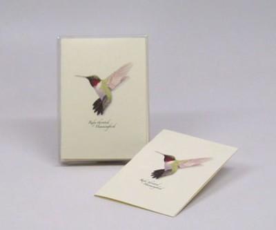 HUMMINGBIRD NOTECARD SET - $10.95