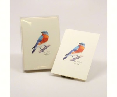 BLUEBIRD NOTECARD SET - $10.95