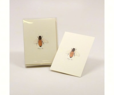 HONEY BEE NOTECARD SET - $10.95