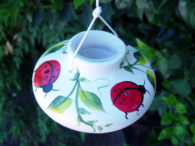 LADYBUG HUMMINGBIRD FEEDER - $21.95