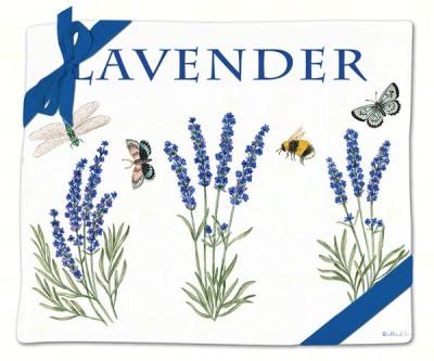 LAVENDER FLOUR SACK TOWELS (2) - $19.95