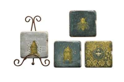 HONEYBEE COASTER SET - $16.95