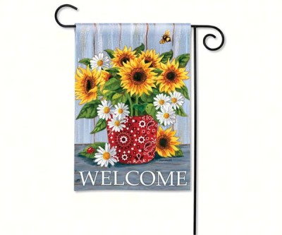 BANDANA SUNFLOWERS FLAG - $11.95