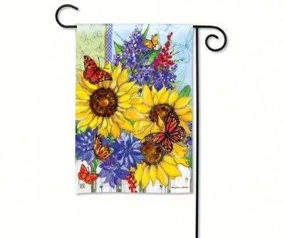 SUNFLOWER BOUQUET FLAG - $11.95