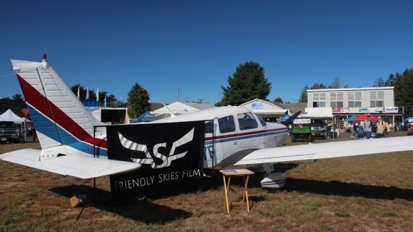N8027F Friendly Skies Film Simsbury Flyin