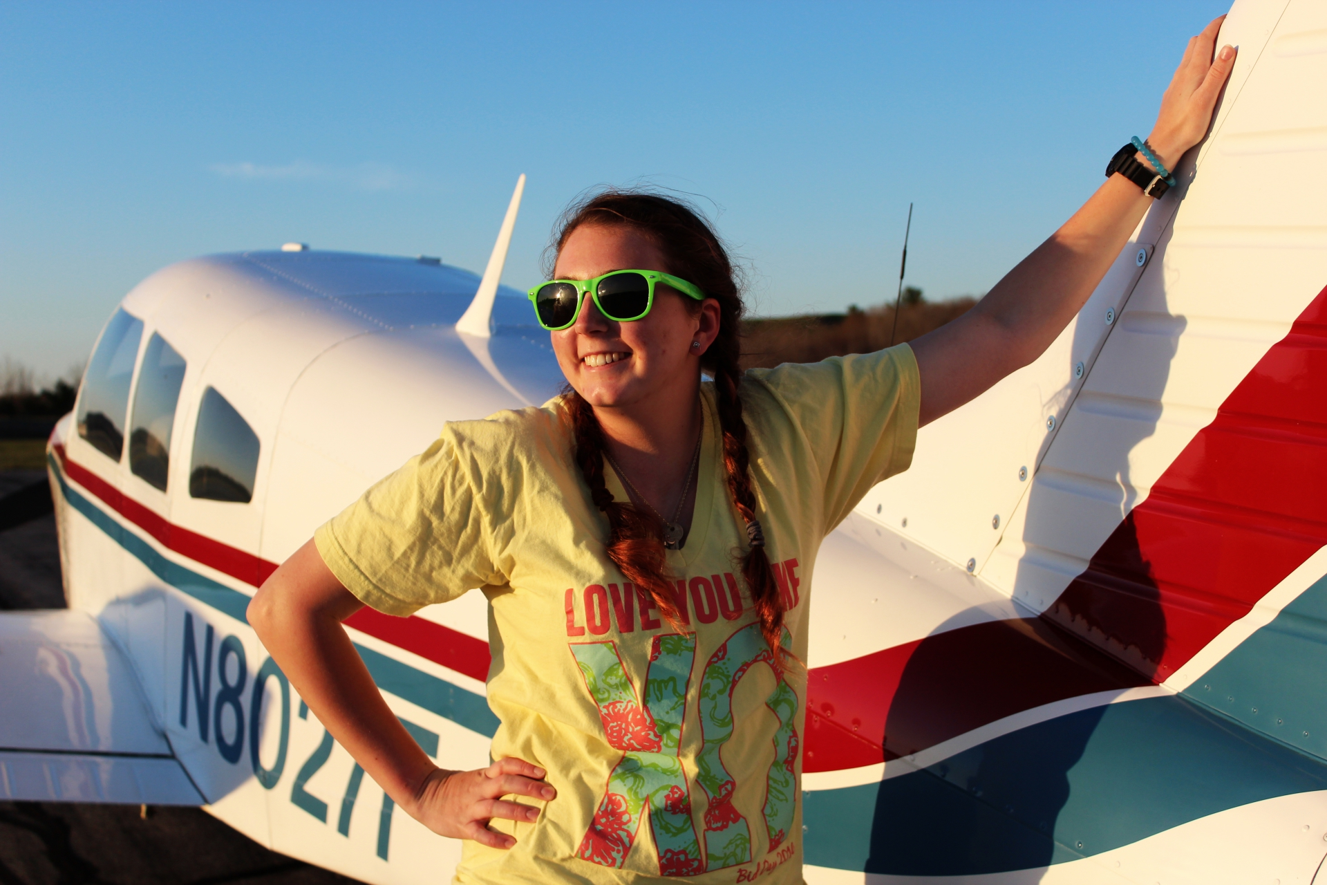 Student Pilot Heather