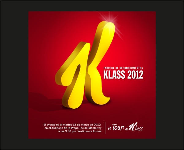 Evento Klass 2012 | Branding