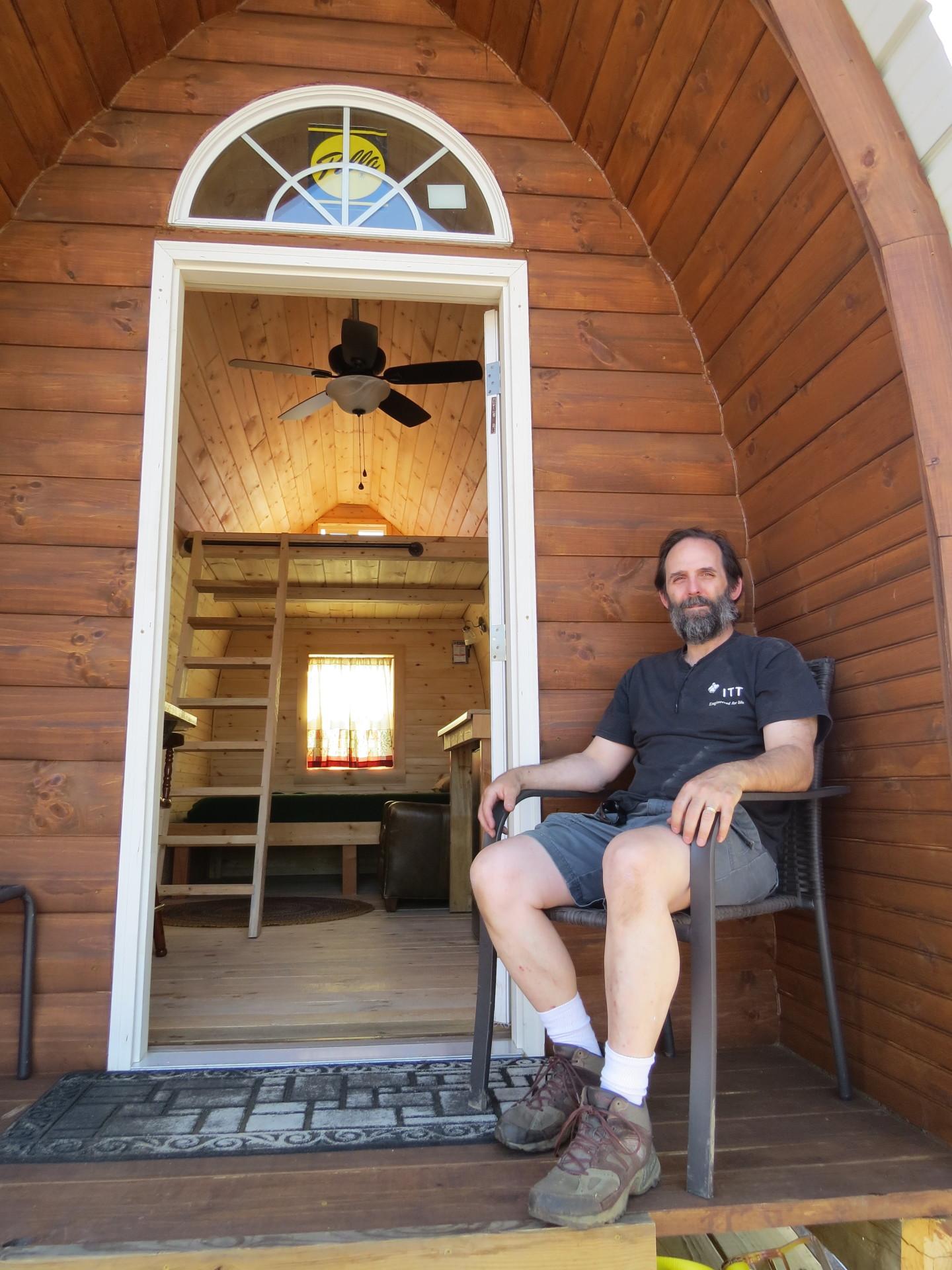 arched cabin frame