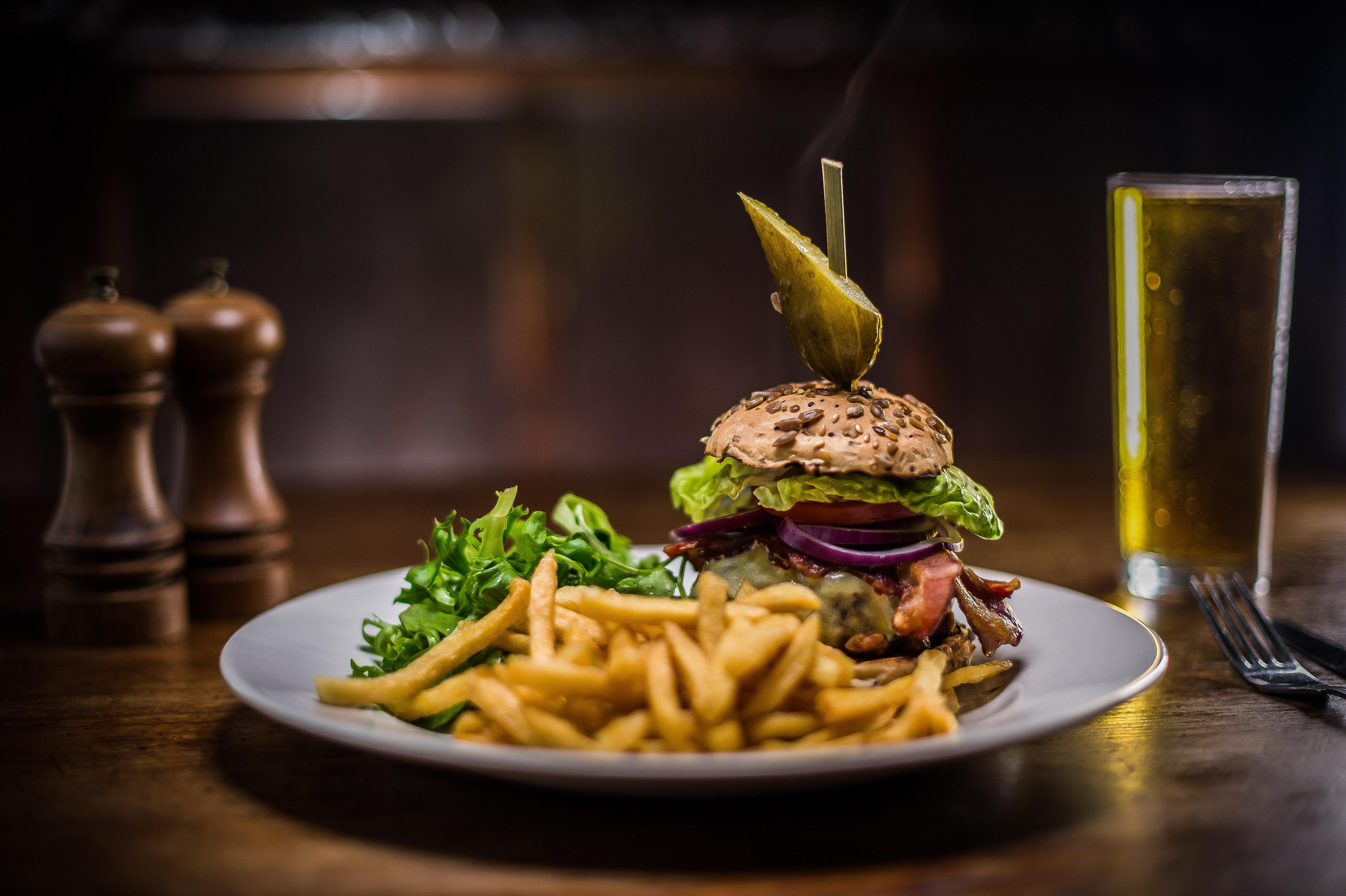 gerkin burger
