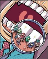 germs on teeth and gums