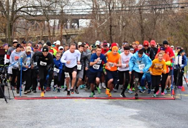 Giblet Jog, Giblet Jog 5k, Thanksgiving Run, Altavista 5k