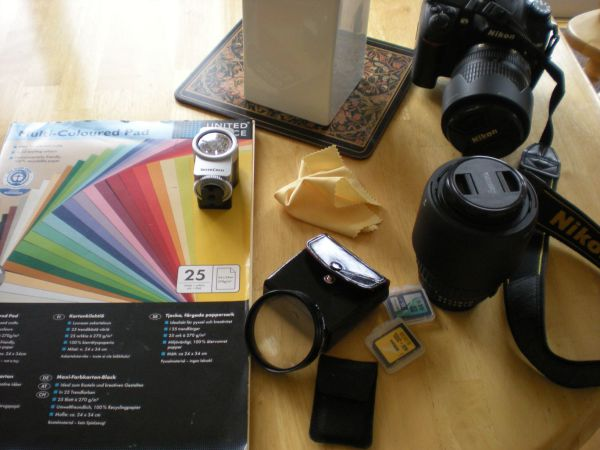 equipment for macro photography