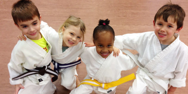Does Taekwondo and Karate Lessons affect 4, 5, and 6-year old's development?