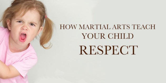 How martial arts teach your child respect