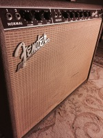 Fender Vibroverb guitar amplifier at Isle Of Wight Recording - Studio 5A