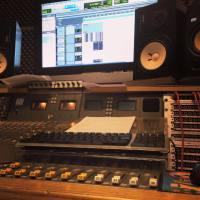 Mixing at Isle Of Wight Recording - Studio 5A