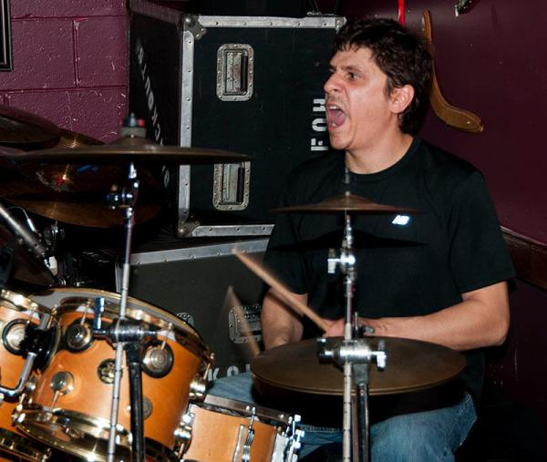 Chris Napier on Drums