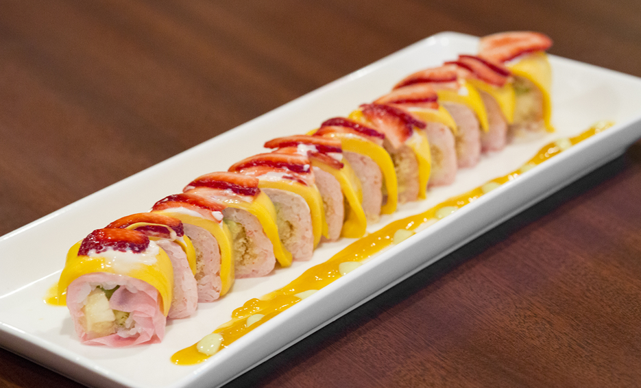 Sushi Dessert Roll