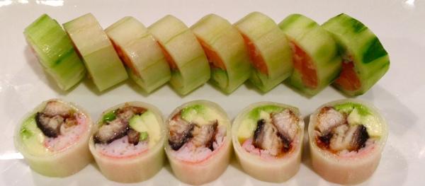 Cucumber Skin Roll