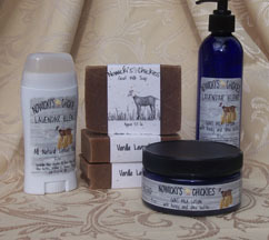 Handmade Goat Milk Products by Nowicki's Chickies