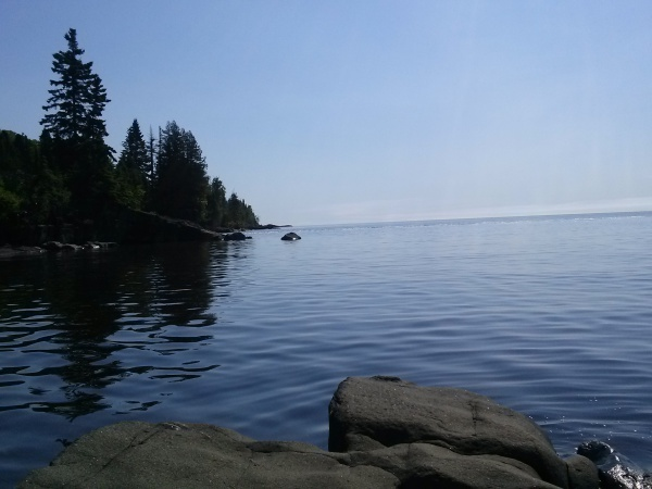 Calm afternoon on Lake Superior