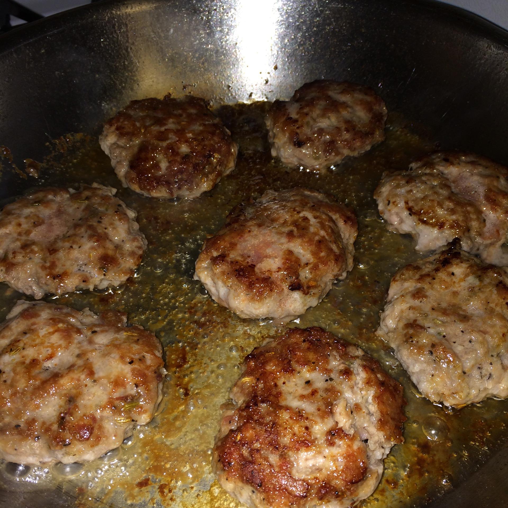 Homemade Maple Sausage Patties