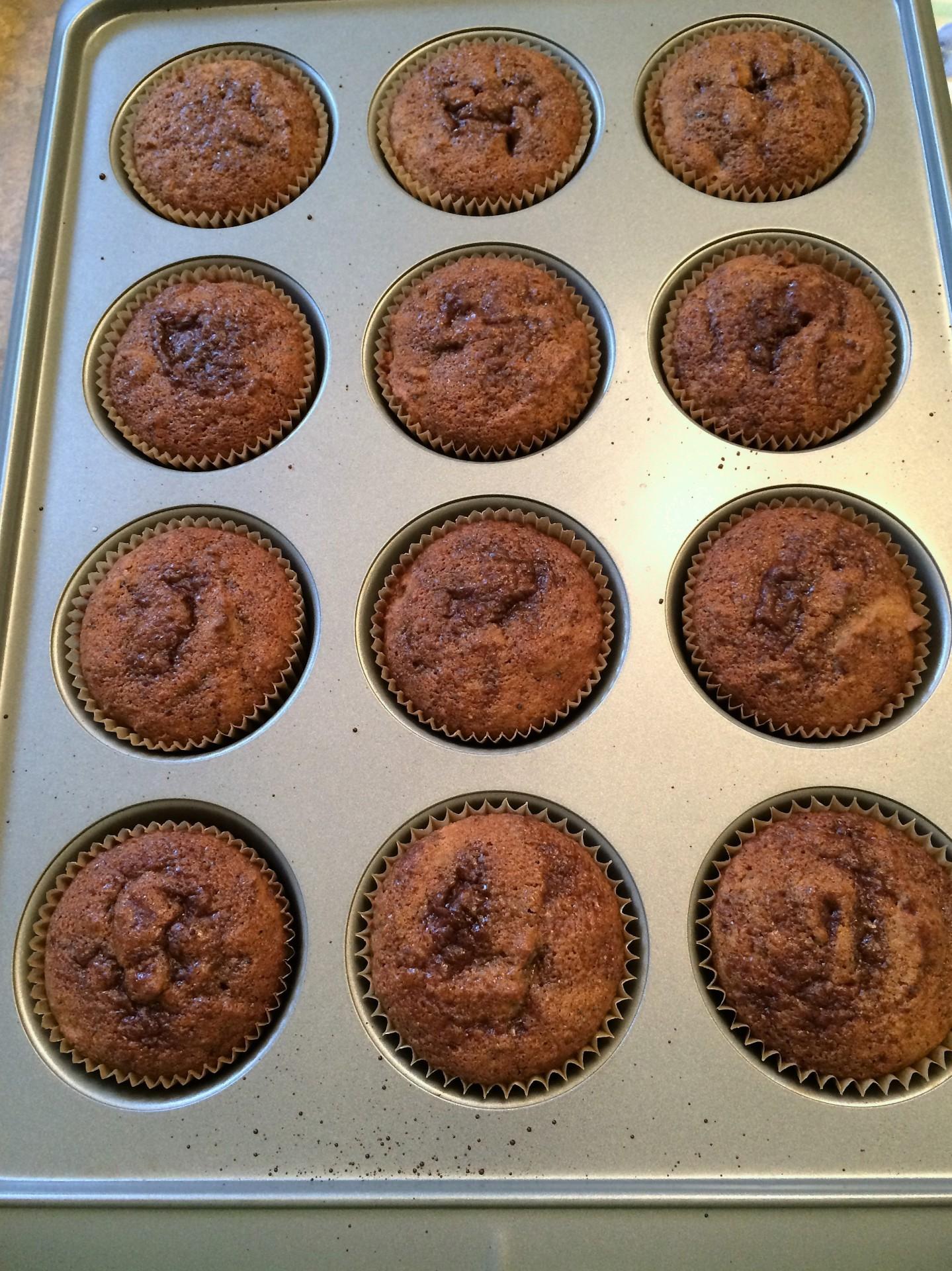Cherry Poppyseed Muffins