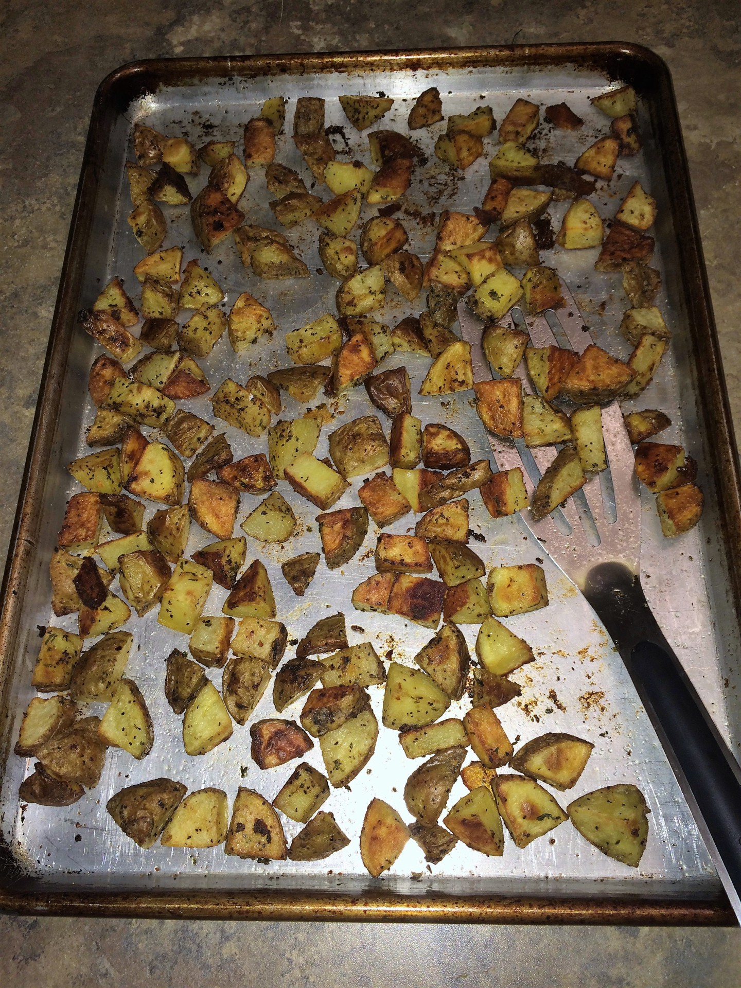 New Recipe!  Oven-Roasted Potatoes
