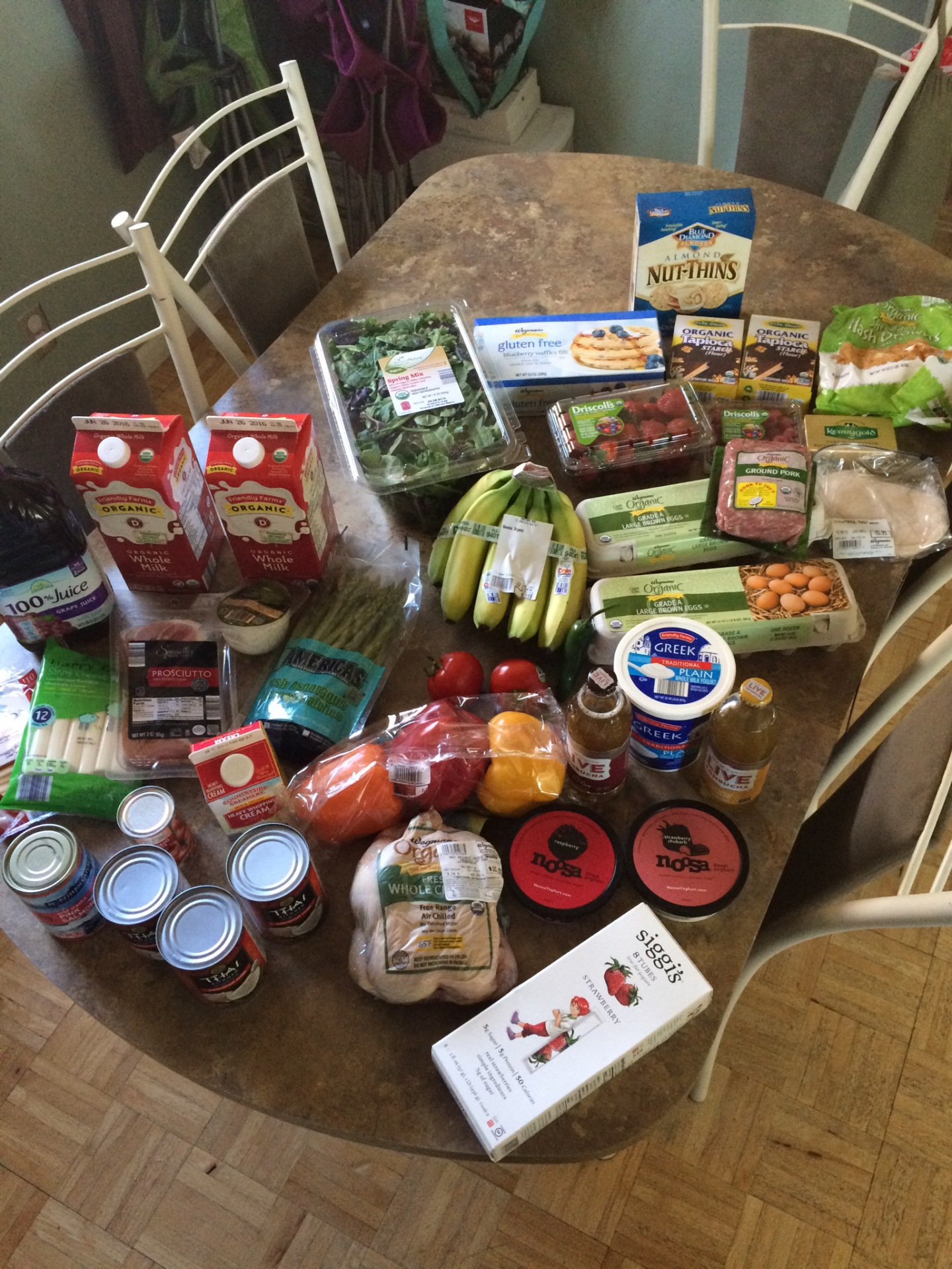 Real Food on a Budget Project- Week 3 Grocery Haul