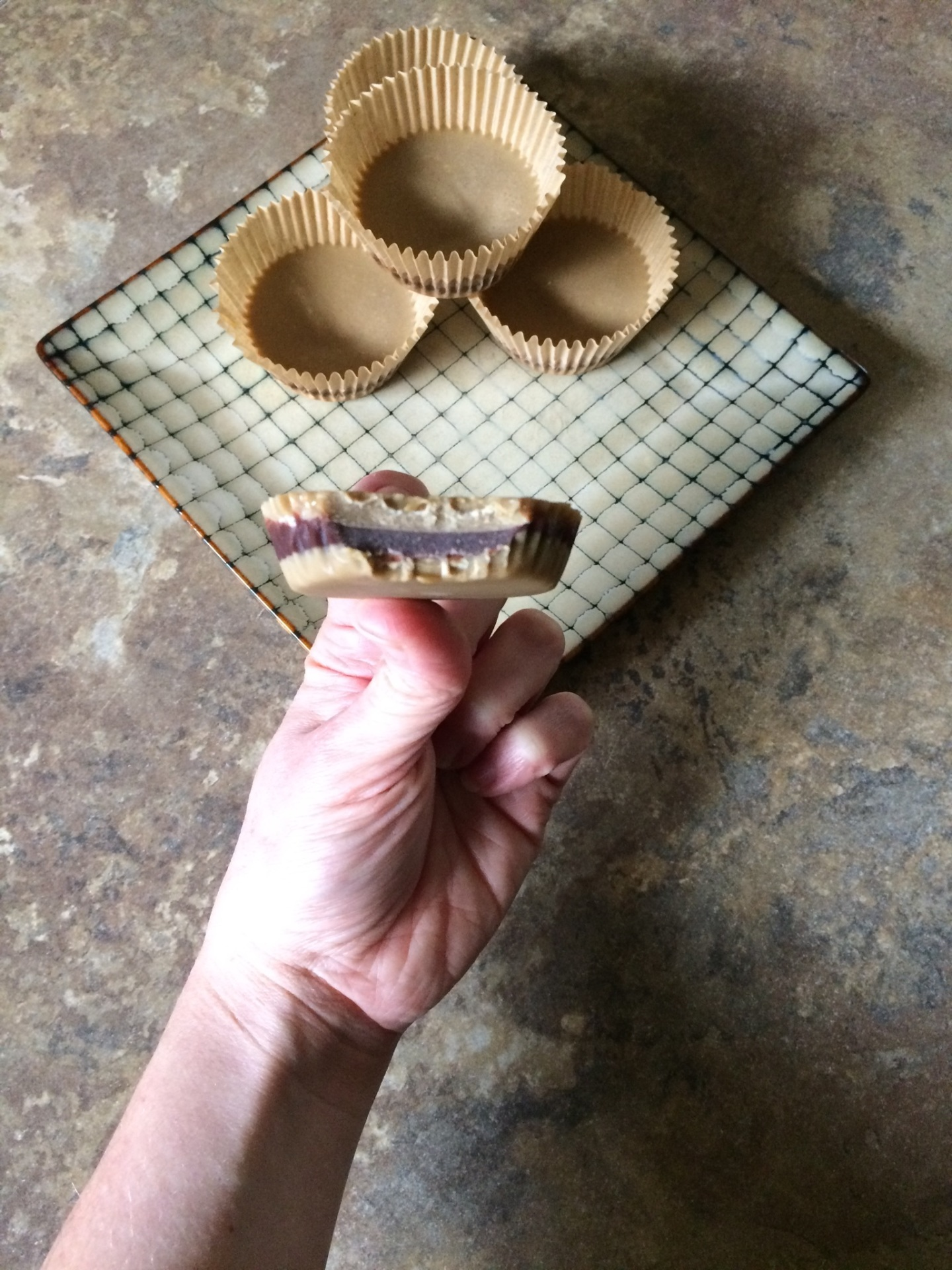Inside-Out Sunbutter Cups