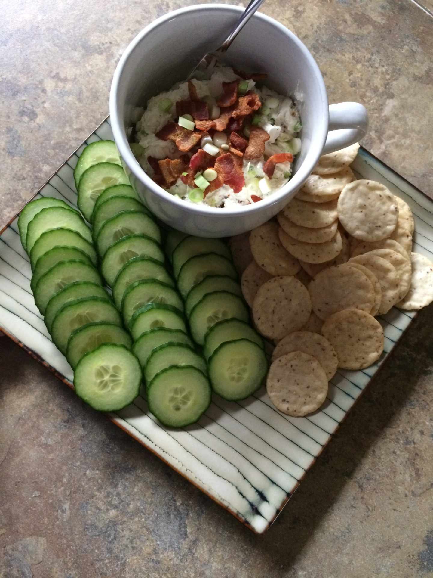 Bacon-Scallion Goat Cheese Spread