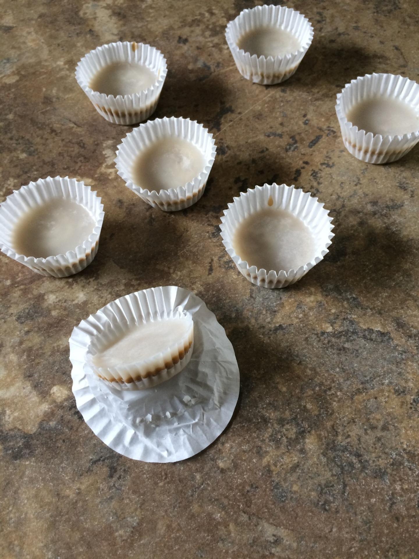 White Mini Sunbutter Cups