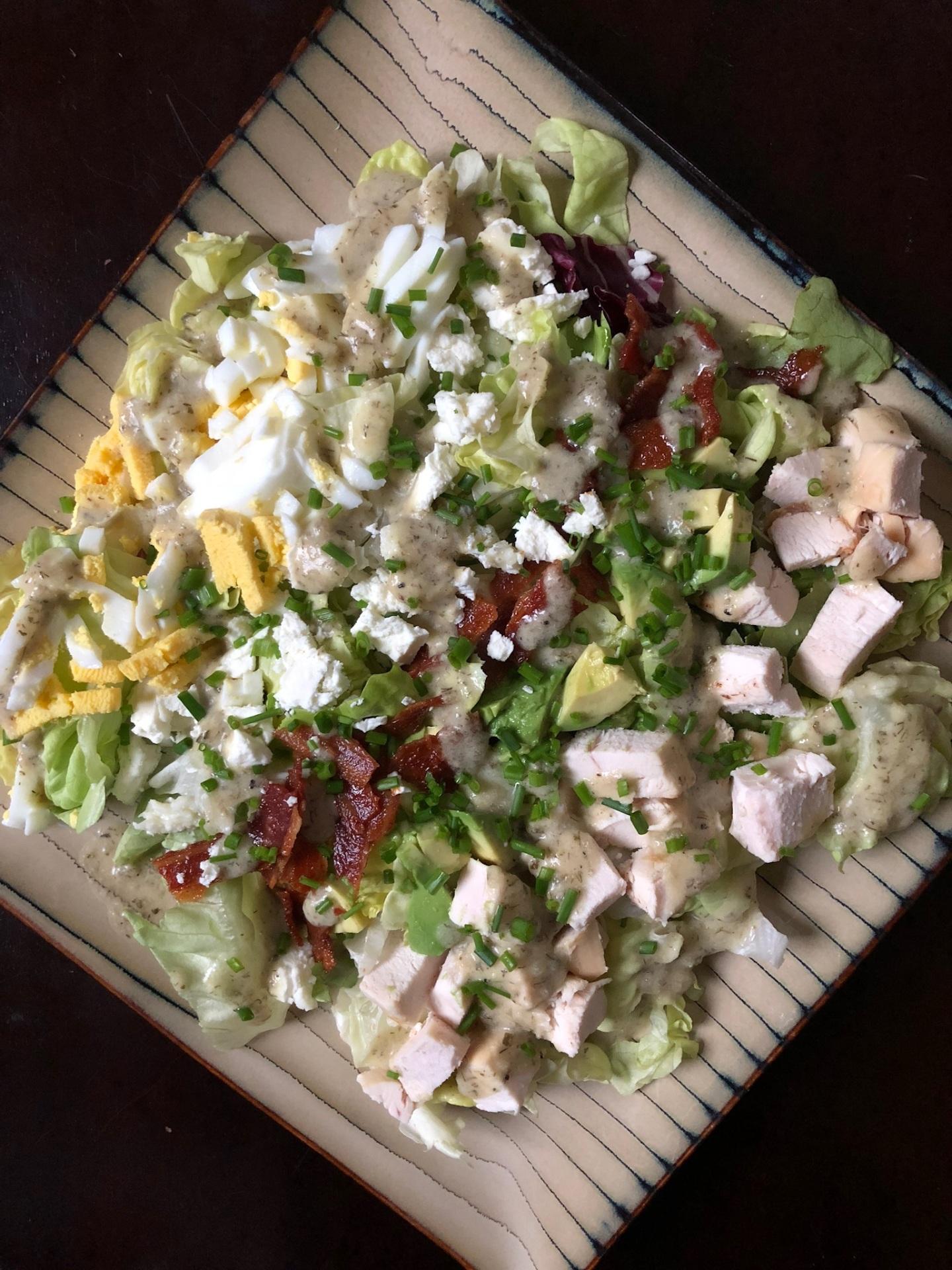 """Cheater"" Cobb Salad"
