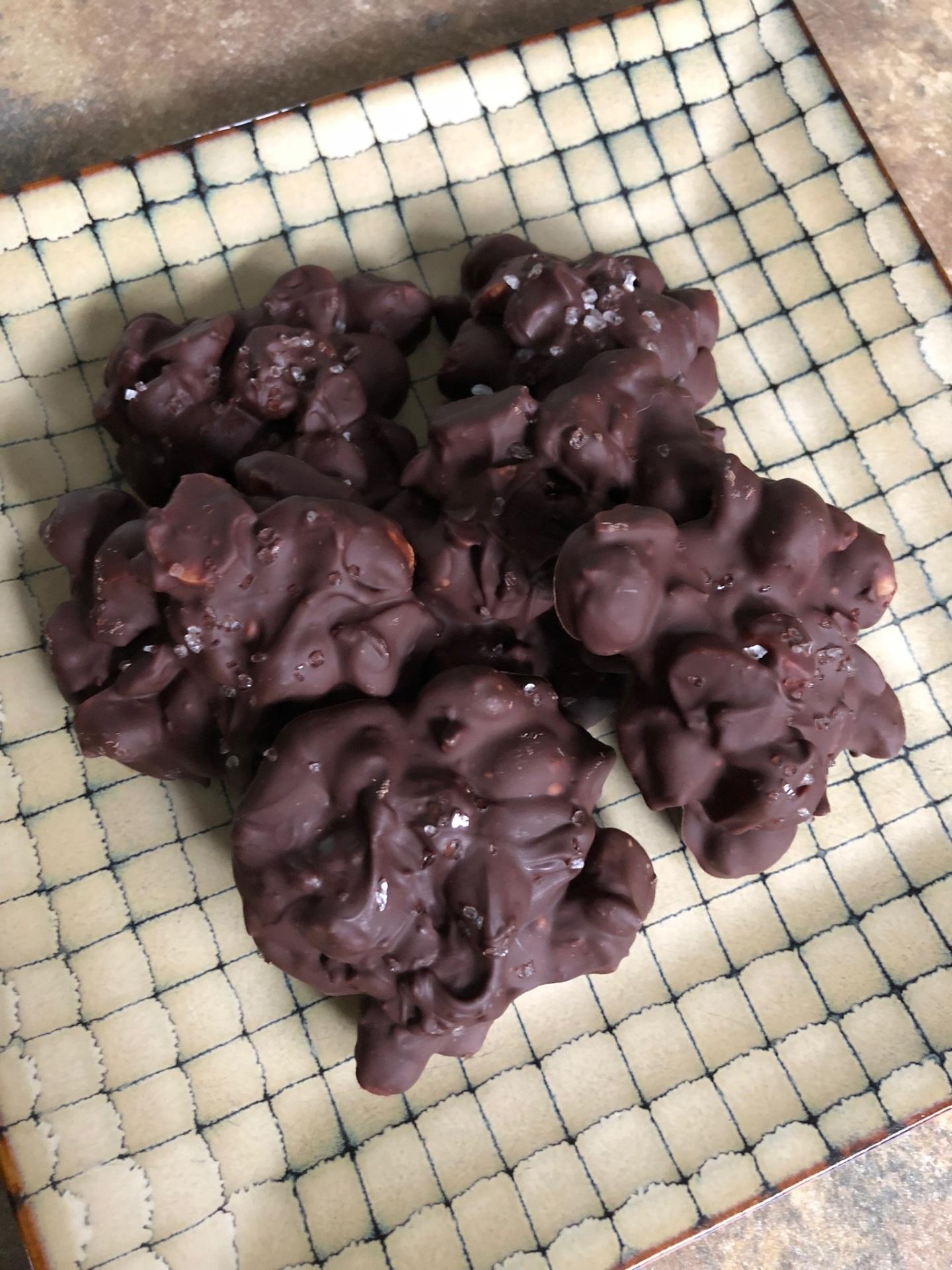 Macadamia Nut Clusters