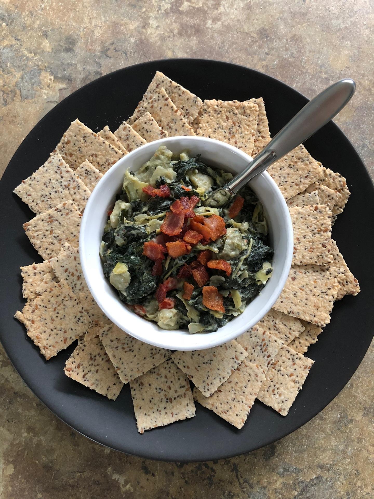 Dairy-Free Spinach-Artichoke Dip