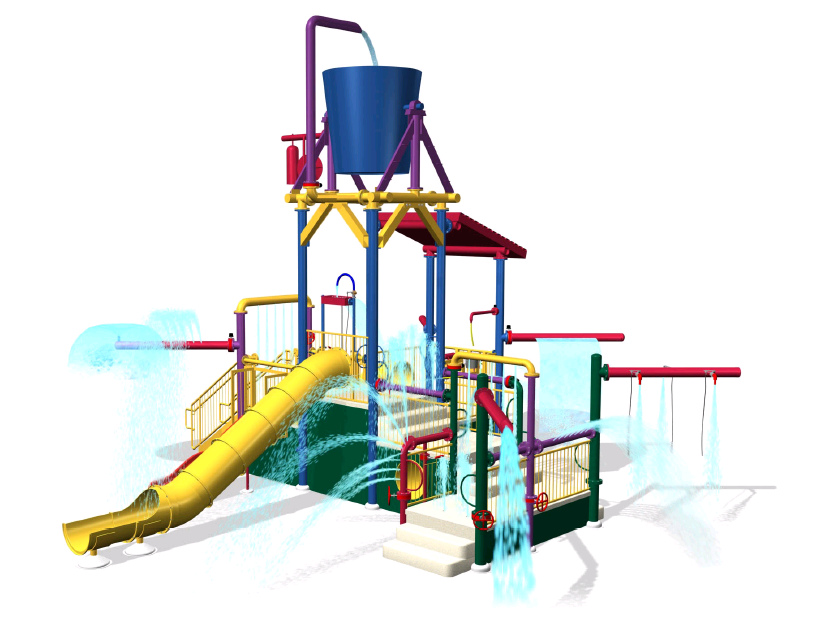 Water Interactive Playground