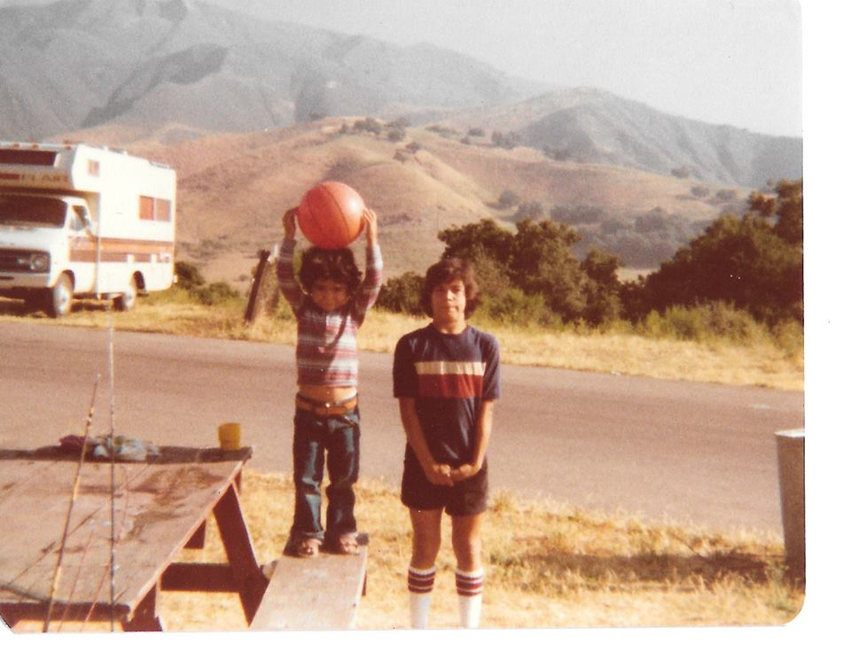 Me and Brother  Eric Nelson  1978