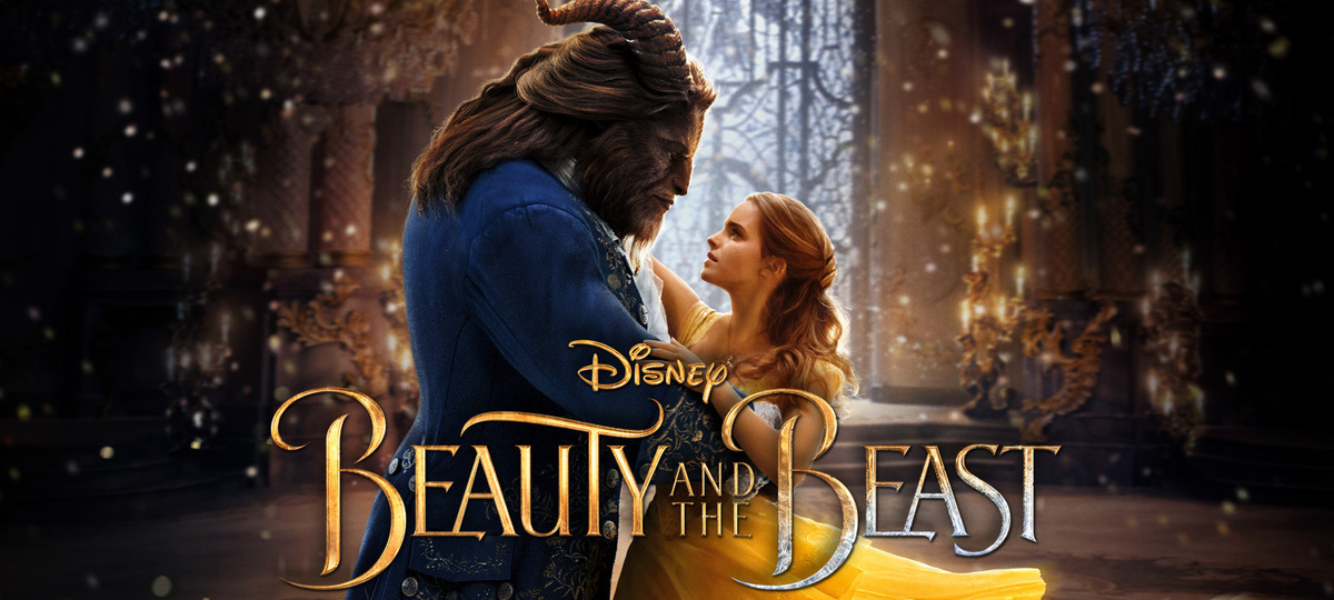 Beauty and the Beast graphic (Disney UK)