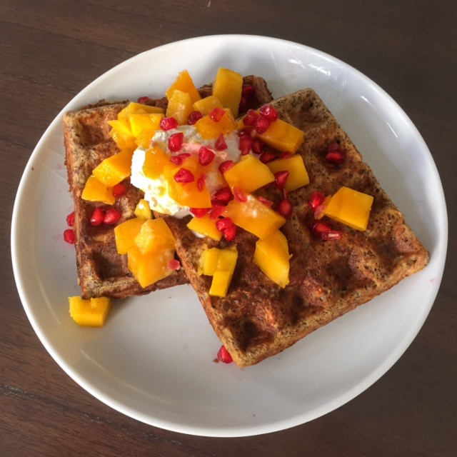 Healthy High Protein Waffles