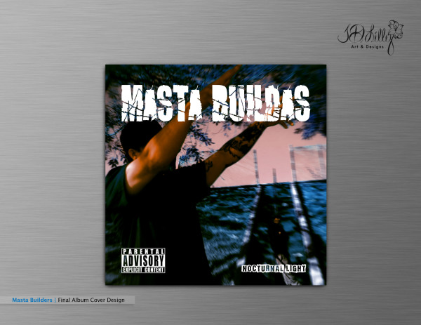 Masta Builda's Album Cover Design