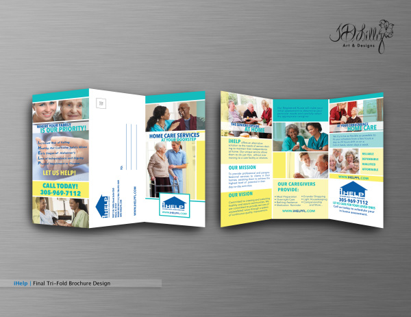iHelp Brochure Design